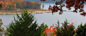 The lake during Fall