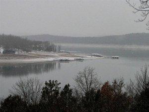 lake during winter