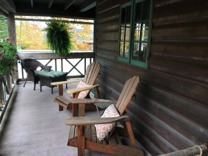 Deck rooms with chairs