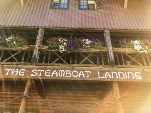 Steamboat sign
