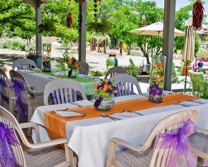 Table Runner on Table for Wedding