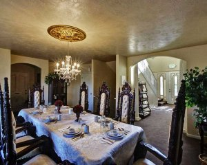Fancy Dining Area