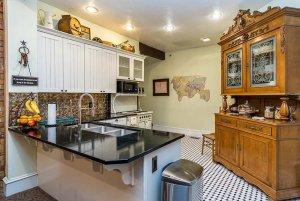 kitchen bar with sink