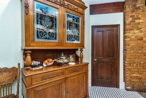 butler's pantry with cookies