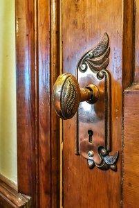 Intricate doorknob