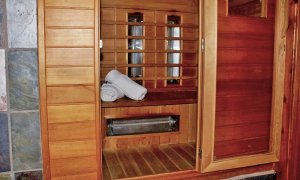 Sauna with Towels