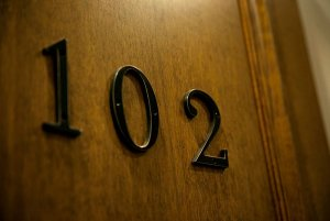 Door to room 102
