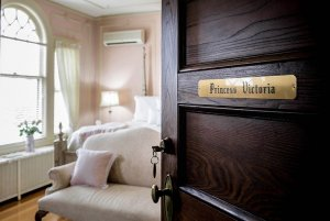 Labeled door to Princess Victoria bedroom