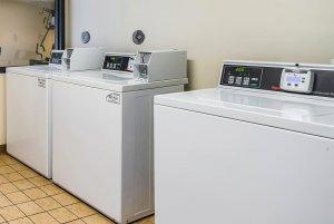 three washing machines