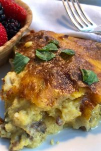 Egg Quiche with Herbs