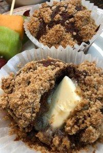 Cinnamon Crumble Muffins