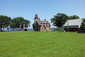 Dunkirk Lighthouse near William Seward in Westfield, New York Photo by Five-two