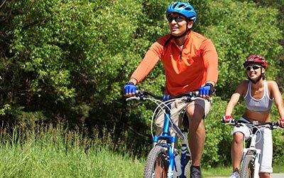 biking in Southwest Wisconsin
