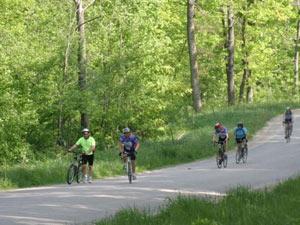 biking in Kickapoo Valley, WIsconsin