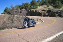 Scenic byway by motocycle