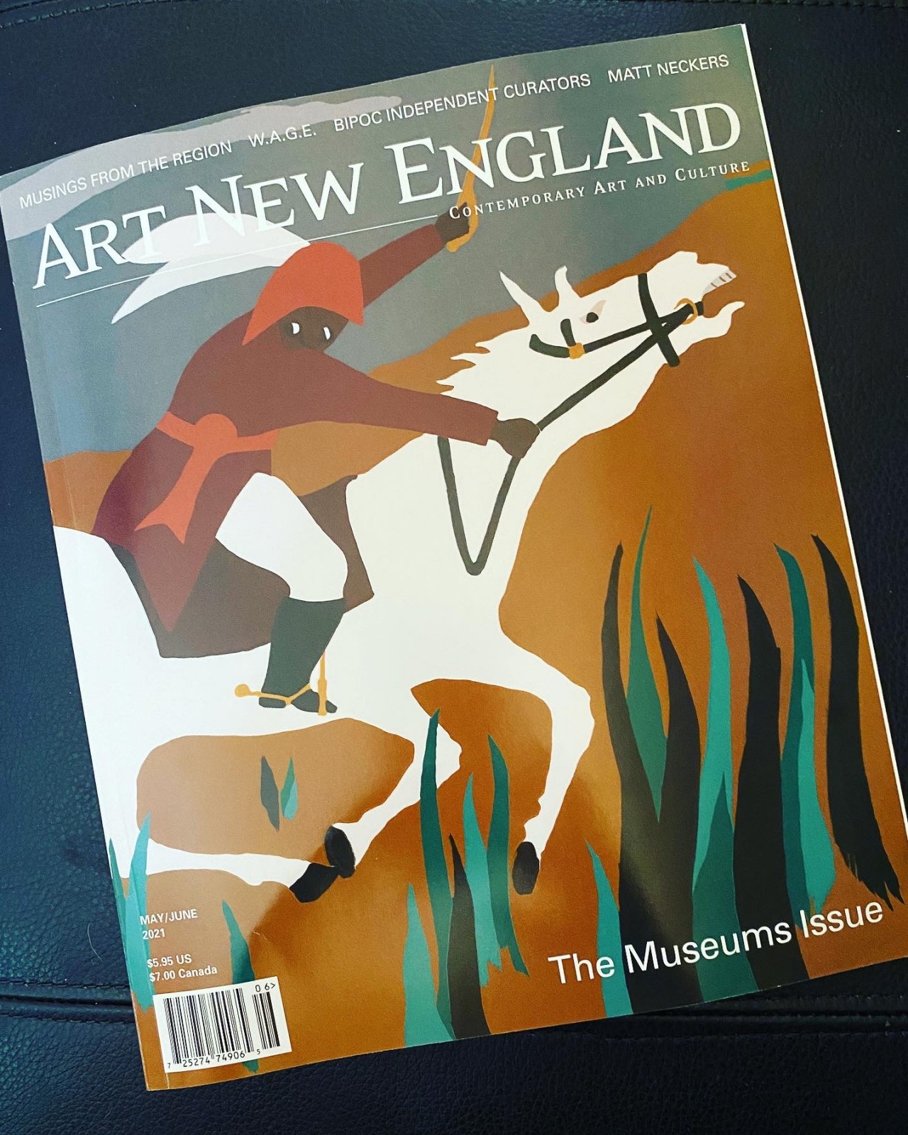 Art New England Magazine