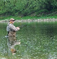 Fishing in the Appalachian Mountains