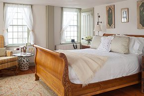 Guest Rooms at Captain Simeon Potter House in Newport, Rhode Island