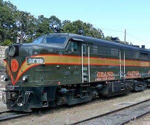 Grand Canyon Railway - Photo by PDTillman