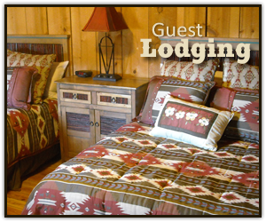Guest Lodging at Trappers Rendezvous in Williams Arizona