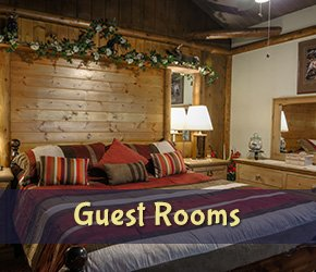 Guest Rooms at Arrowhead Tree Top Lodge