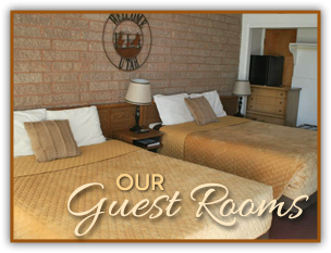 Guest Rooms at Canyon Lodge Motel in Panguitch, Utah