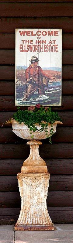 Planter at The Inn at Ellsworth Estate