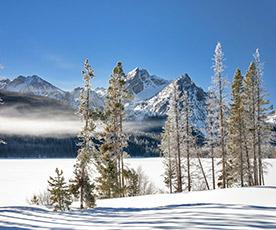 Snowy River in Idaho