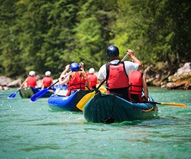 Rafting in Idaho