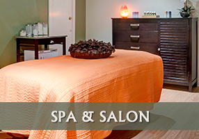 Spa and Salon at The Inn at Camden Place in Maine