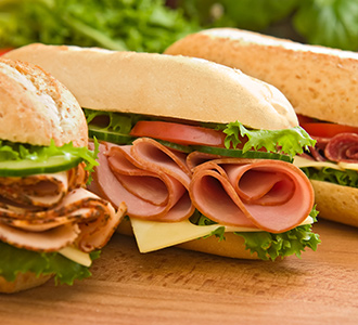 Sandwiches at Village Hero subs