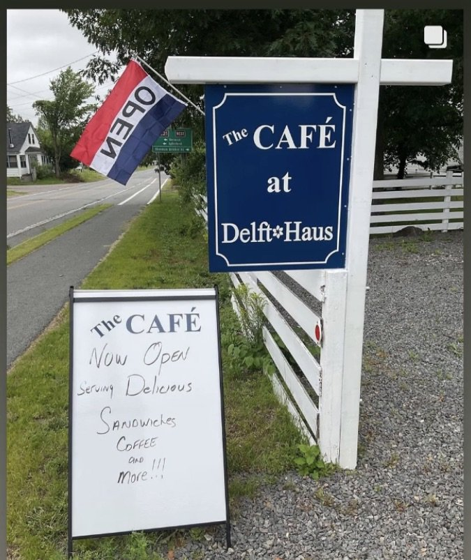 The Café is now open from 11-5, Wed-Sunday