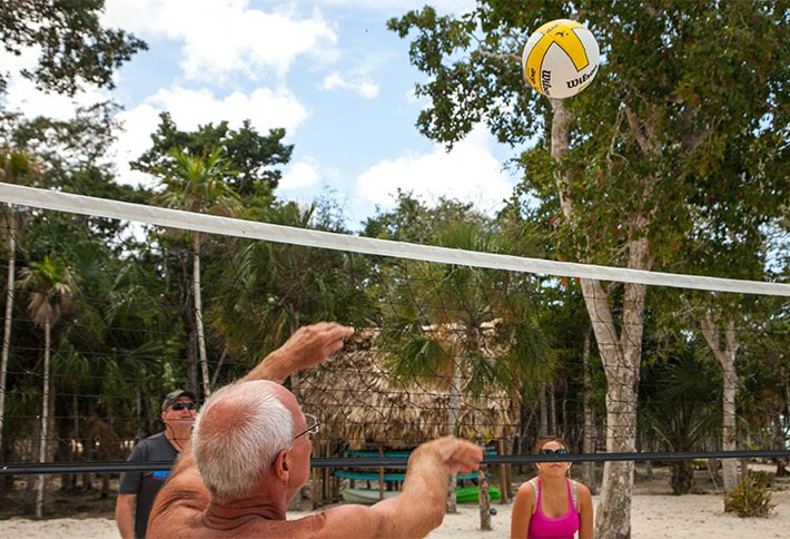 volleyball at crimson orchid