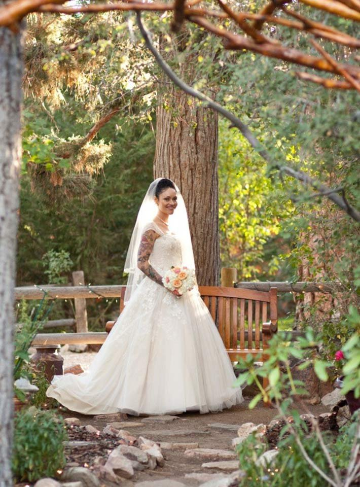 fall wedding at gold mountain