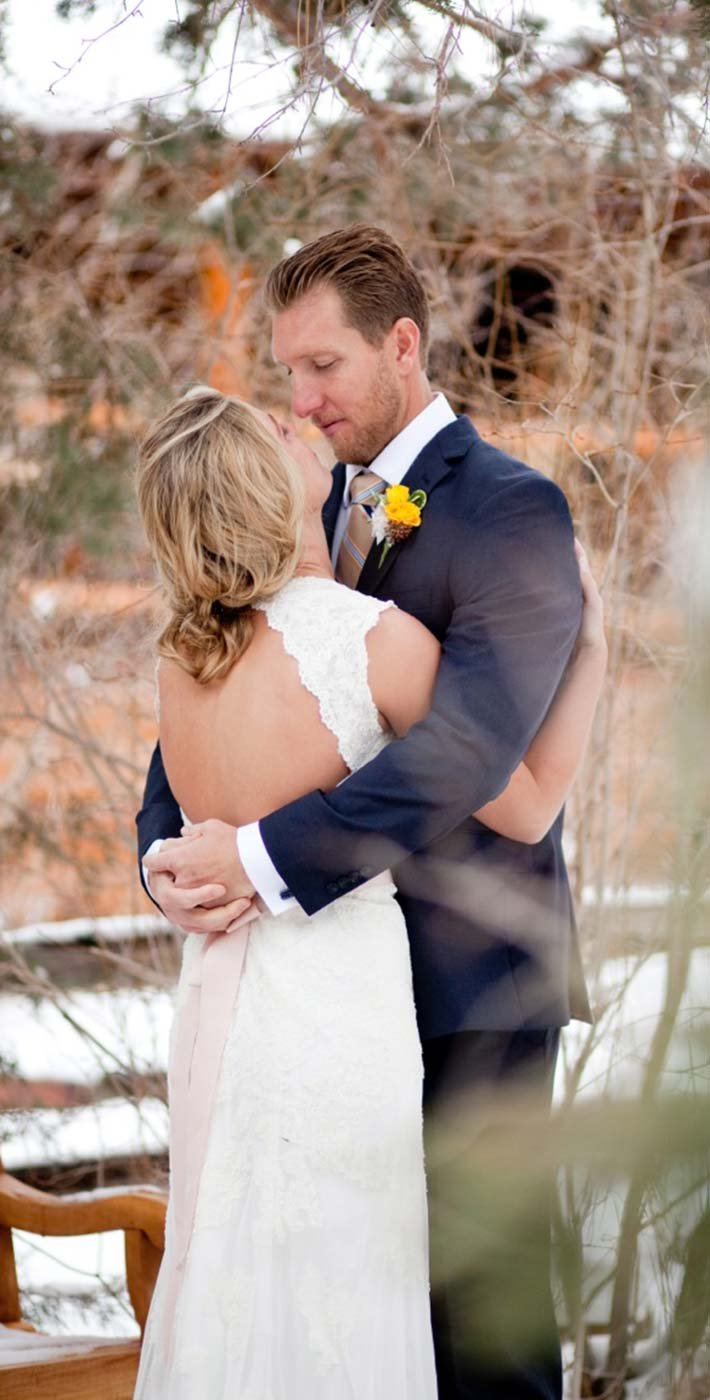 Winter Wedding in Big Bear Lake California