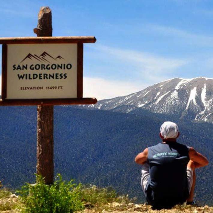 hiking near Gold Mountain Manor in Big Bear Lake, CA