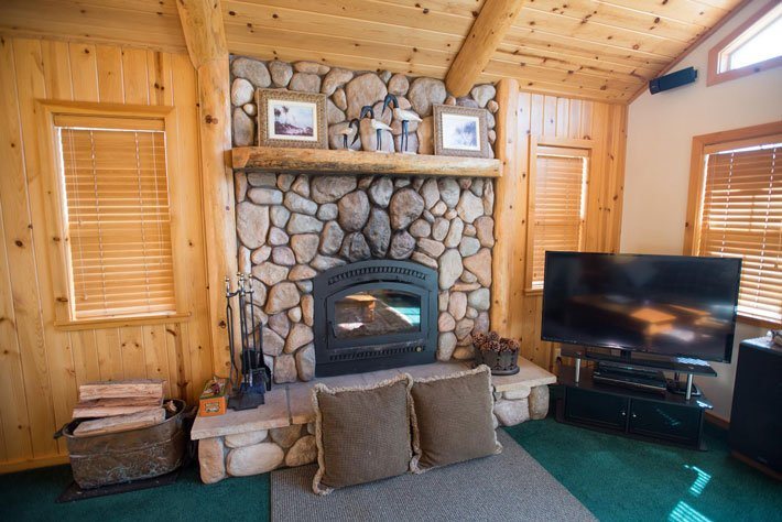 Pacific Crest Spa Cabin at Gold Mountain Manor in Big Bear Lake California