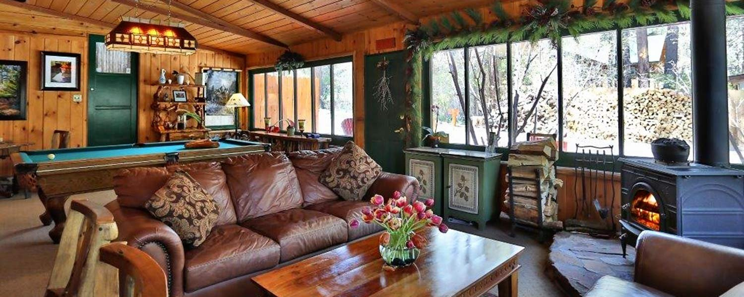 Whole House Rental Big Bear Bed And Breakfast Gold Mountain Manor