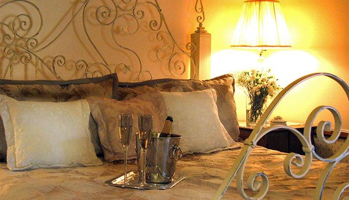country room at adobe village graham inn