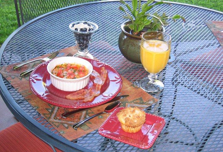 Breakfast At Adobe Village Graham Inn