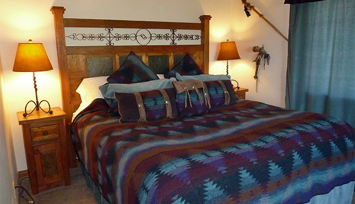 painted desert room at adobe village graham inn