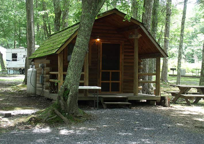 Cabin at Pipestem campground