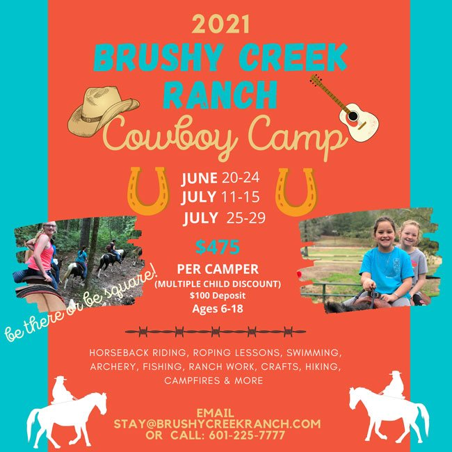 Cowboy Camp Flier