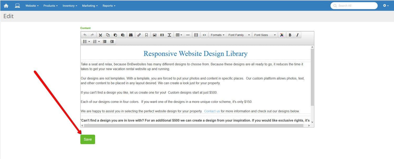 Change Website Text 2