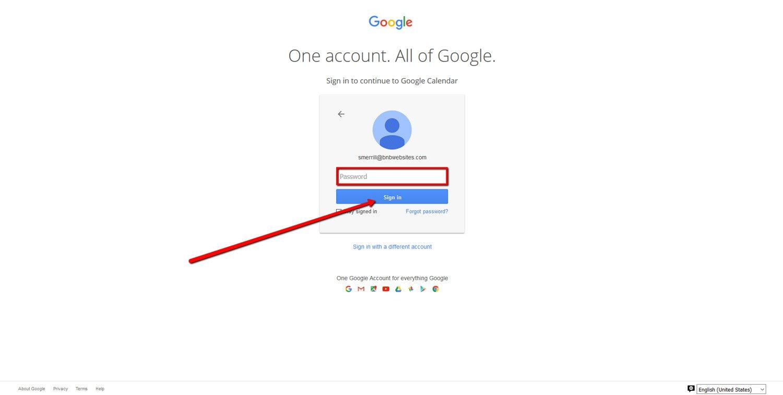 How To Create a Google Calendar 2