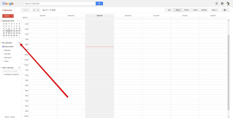 How To Create a Google Calendar 3