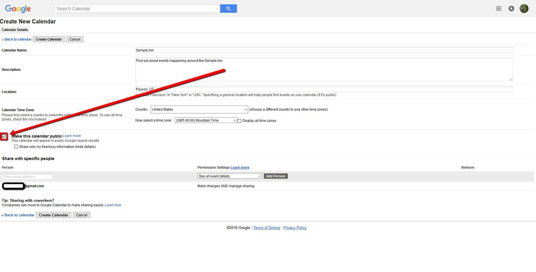 How To Create a Google Calendar 6