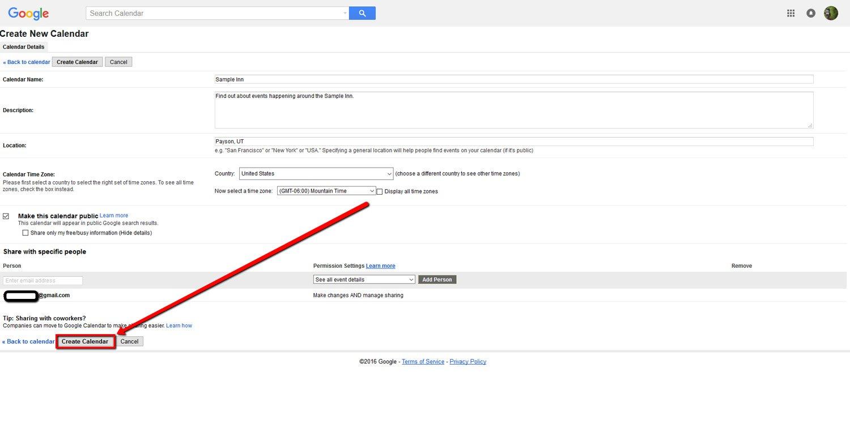 How To Create a Google Calendar 7