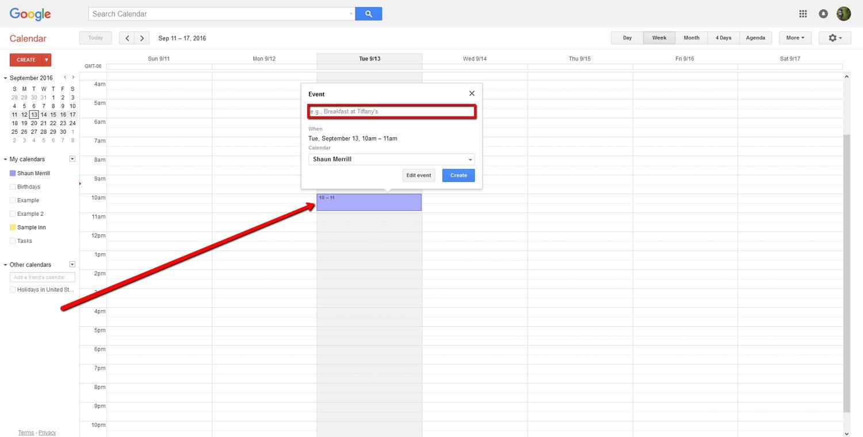How To Create a Google Calendar 9