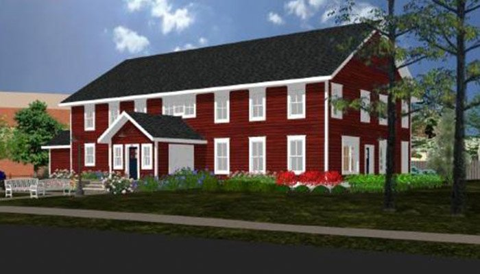 Nestledown Bed & Breakfast Exterior Rendering
